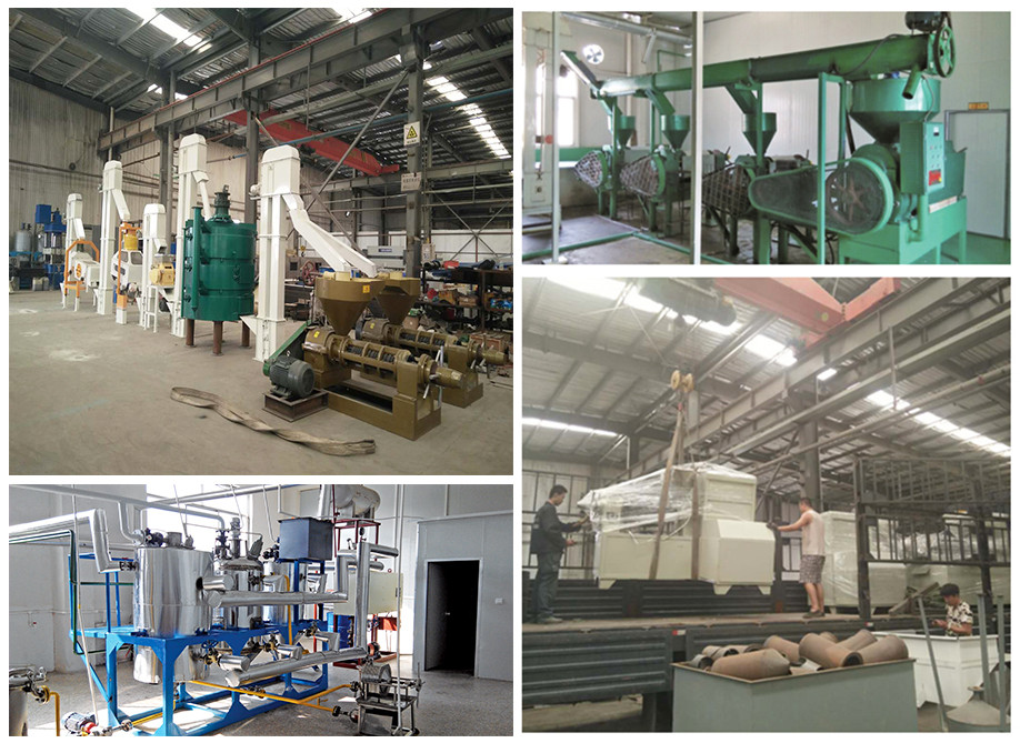 sunflower oil refining machine / sunflower oil production plant made in china