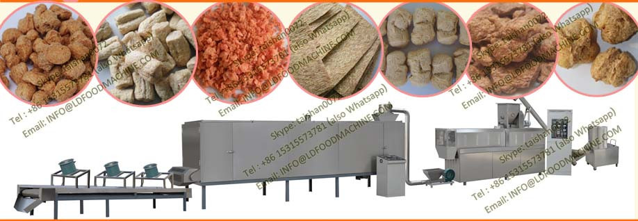 nutrition soya protein textured chunks making machines production line
