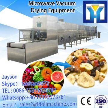 2017 hot sale commercial Stainless steel soybean microwave drying machine
