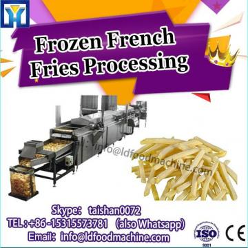 Semi Automatic Small Scale Making Potato Chips Finger Crisp Processing Plant Machine Frozen French Fries Production Line Price