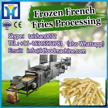 the widely used 300kg/h full automatic frozen potato sticks maker machines/french fries processing plant production line