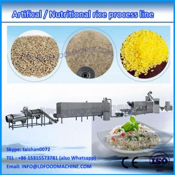 China supplier factory price LDstituded rice making extruder machine/ Vitamin artificial rice production equipment
