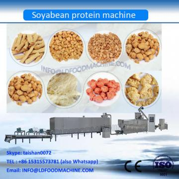 Automatic TVP TSP Soya Bean Protein Chunks Making Machine Low Price