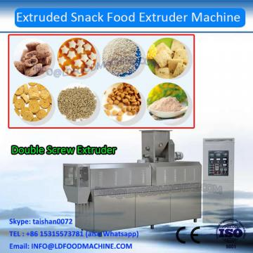 Automatic High Efficient And Good Quality Snack Food Making Machine / Inflated Food Production Line