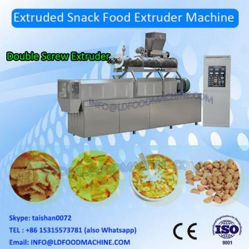 2018 China DG Jinan 3d potato chips pellet snacks making extruder machinery/snacks food processing line China supplier sale