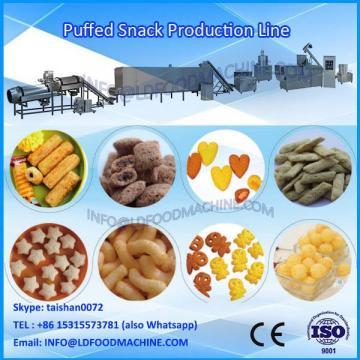 Chocolate coated puff snacks pop corn snack processing line equipment