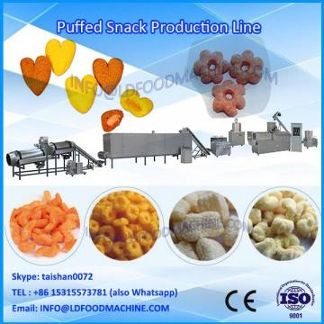 New design coating puff ring machine breakfast cereals production line