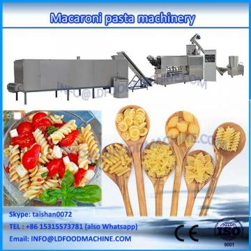 Widely used best quality low noise italian macaroni pasta production line