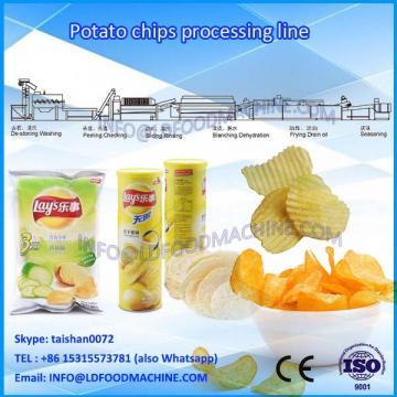 100kg/h Semi-automatic Frech Potato Chips Crisps Processing Line