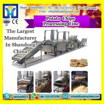 frying potato chips production line