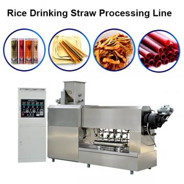 304 Stainless Steel Edible Rice Drinking Straws / Pasta / Rice Straws High Quality Disposable Straw Machine