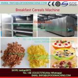 Cereal breakfast wheat puffs hot air puffing machine