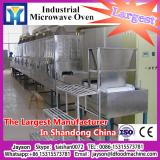 Industrial continuous red chilli powder/yam flour/spice microwave belt drying sterilization machine