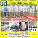Small scale automated flaxseed black seed oil filter machine