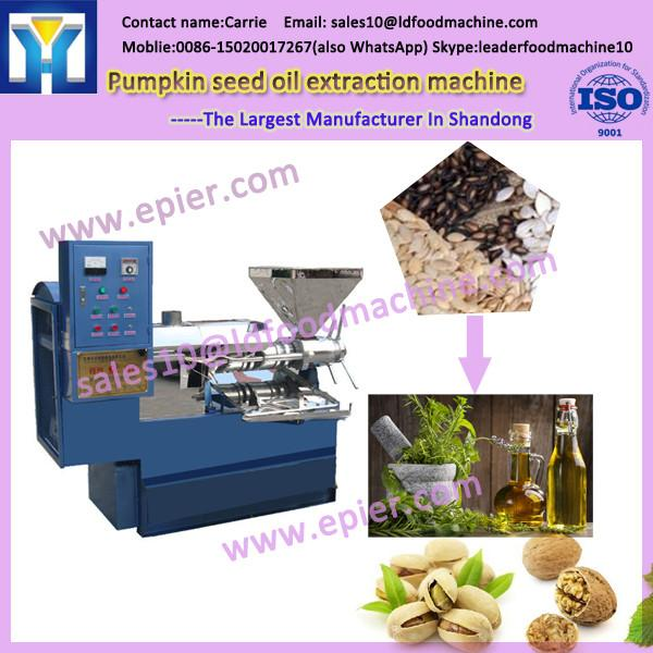 6YL-120 Small Scale Spiral Oil Presser worm screw Pre-press Expeller Baobab seeds Screw Oil Press machine #1 image