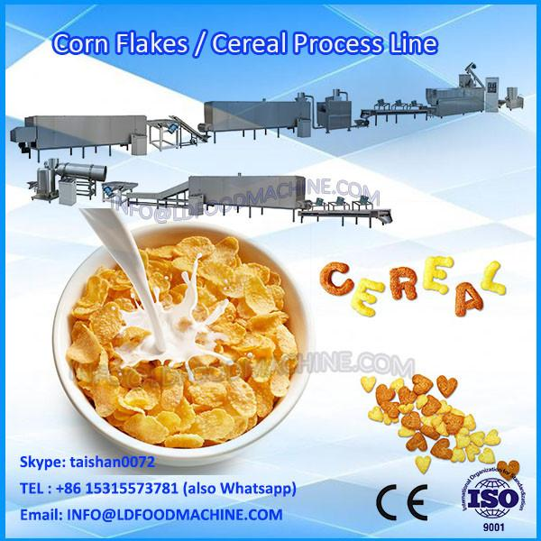 Fully Automatic Oat Flakes Cereal Production Line Making Machine #1 image