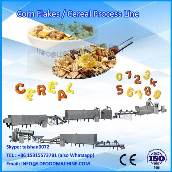 Breakfast cereal corn flakes production line With Promotional #1 image