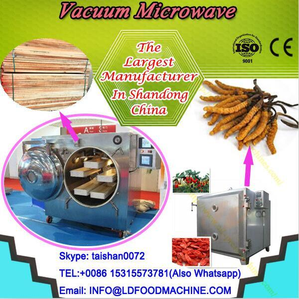 Commercial stainless steel chips microwave drying machine #1 image