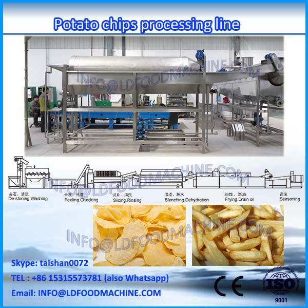 full-automatic small scale french fries production line #1 image
