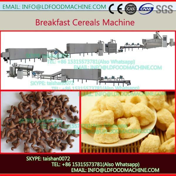 Low consumption corn flakes/breakfast cereals processing machine #1 image