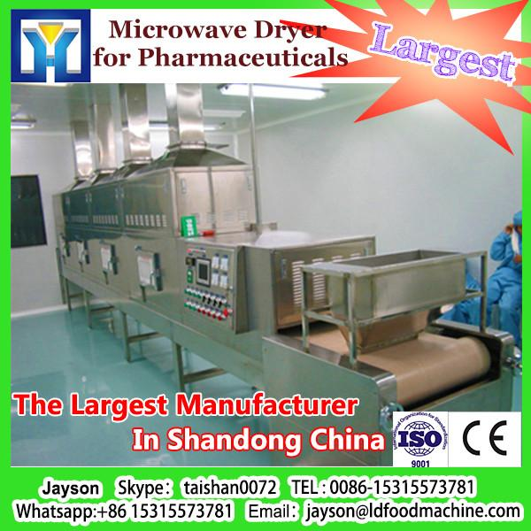 Conti tunnel type microwave dryer and sterilizing machine for herb #1 image